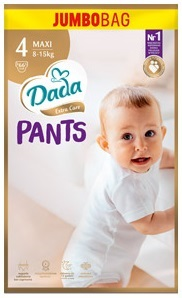 Трусики DADA pants extra-care 4 MAXI / 8-15кг / 66шт