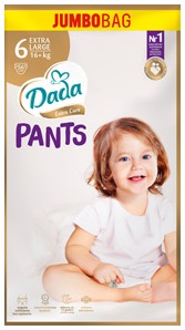 Трусики DADA pants extra-care 6 EXTRA LARGE / 16кг+ / 56шт